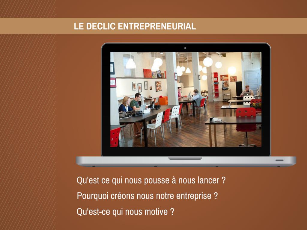 Comment et pourquoi devient-on entrepreneur ?
